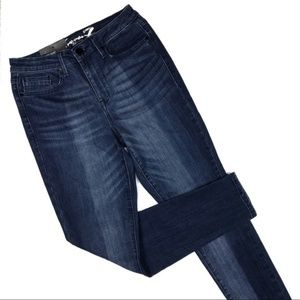 Seven7 Mid Rise Skinny Jeans